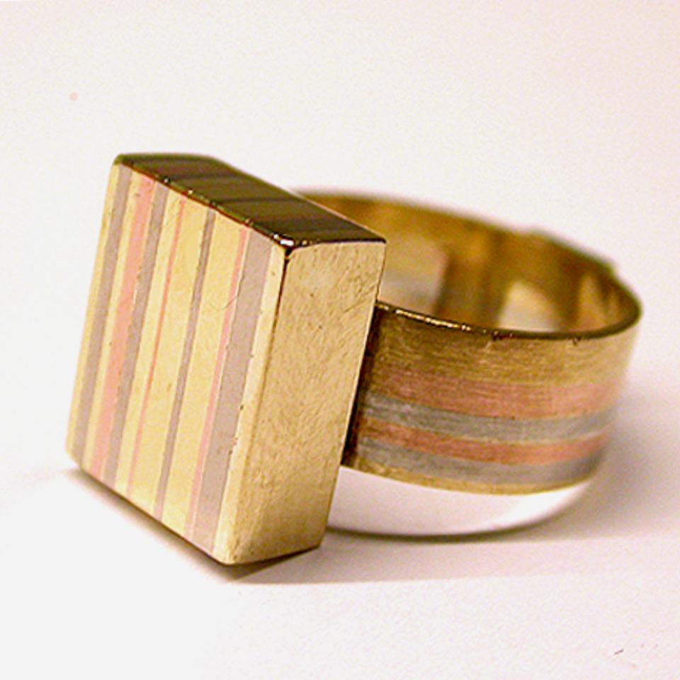 zegelring, oud goud omsmelten