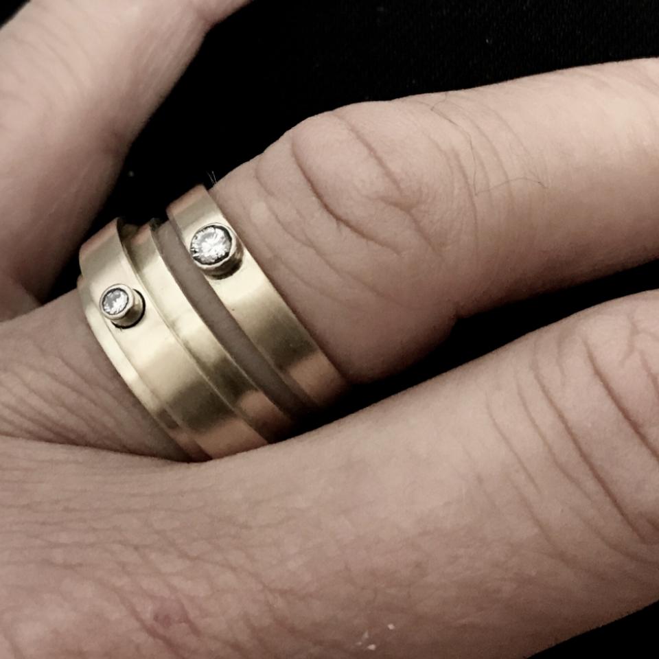 oud goud omsmelten, sieraad van oud goud,