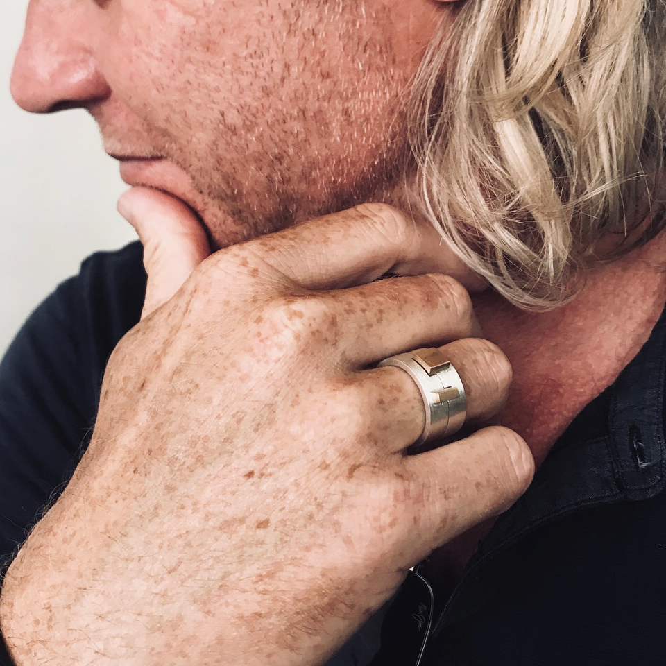 ring in opdracht, ring op maat, ring laten maken, scheidings ring, ring man,
